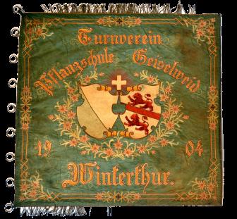 Fahne 1904 vorne